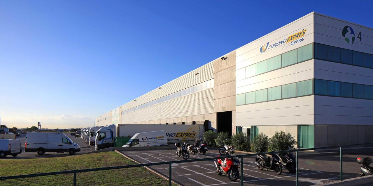 The image shown is warehouse space, Sant Boi DC4, located in Barcelona, Spain.