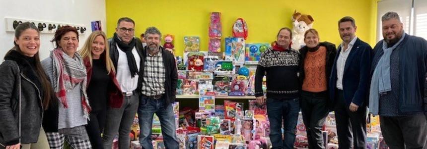 Prologis Park Sant Boi takes part in its traditional Christmas toy collection campaign